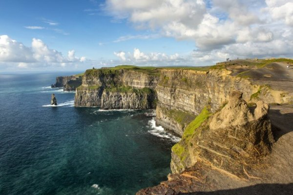 The Cliffs of Moher on the Wild Atlantic